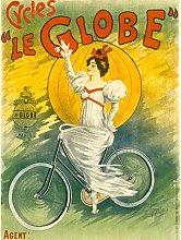 Clouet George Hetley Cycles Bicycle Vintage Advert