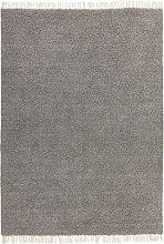 CLOVER - Area Rug - Dark Grey - 120x170 cm - Dark
