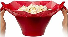 Cloverclover Silicone Microwave Popcorn Maker