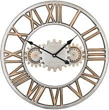 Cloverdale 46cm Silent Wall Clock Borough Wharf