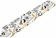ClownFish Table Runner Placemat, Funny Halloween