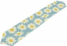 ClownFish White Yellow Floral Camomile Table