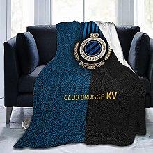 Club B-Rug-Ge Kv Football Team Flannel Fleece