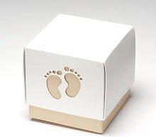 Club Green Baby Footprint Box Coffee 60X60X60,