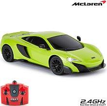 CMJ RC Cars Radio Controlled McLaren Green 1:24 Car