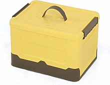 cmjlydh Foldable Storage Box with Lid and Handle