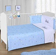 CnA Stores – Little Prince Blue Stars Boys Cot