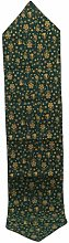Cngstar Christmas Green Table Runners Snowflake