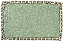 Cngstar Cotton Linen Fabric Lace Type Placemat
