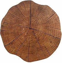 Cngstar Placemat Wood Grain Shape Placemat DIY