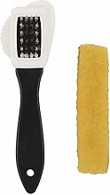 Cngstar Suede Leather Shoe Brush 3 Side Cleaning