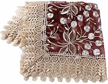 Cngstar Vintage Hollow Lace Table Runner Dresser