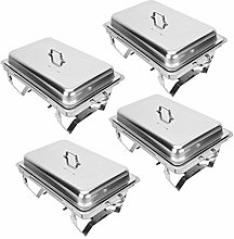 CO-Z Chafing Dishes Food Warmers with Pans Chafing