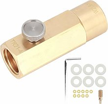 CO2 Refill Adapter Kit, Brass CO2 Cylinder Refill