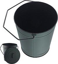 Coal Bucket With Lid And Handle