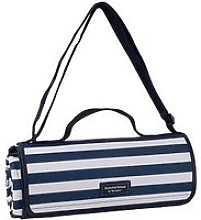 Coast Extra Large Navy Picnic Blanket With A