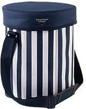 Coast Navy Round Insulated Cool Bag / Seat Cooler