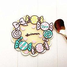 Coaster Kawaii Cartoon Silicone Drink Coasters