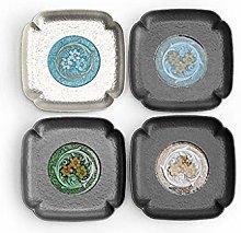 Coasters for Drinks Alloy Coaster Creative Tea Cup