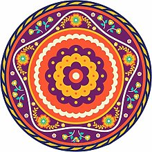Coasters for Drinks Round Mandala Flower Absorbent
