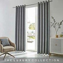 Coastline Living Embossed Velvet Silver Grey