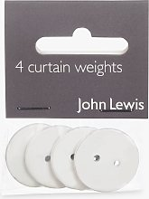 Coated Lead Curtain Weights, Set of 4