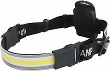 COB LED Head Torch, Super Bright Headlamp Strip,