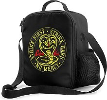 Cobra Kai No Mercy Lunch Box with Padded Insulated