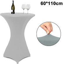 Cocktail Round Spandex Table Cover Four-Way Tight