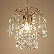 COCNI American Champagne Gold Simple Crystal