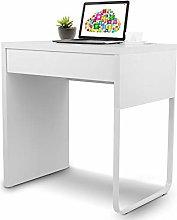 Cocoarm Desk White computer desk with drawer desk