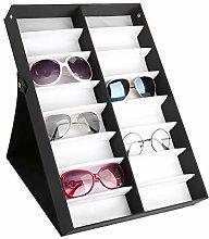 Cocoarm Glasses Storage Box, Glasses Organizer