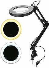 Cocoarm LED Magnifier Lamp 5X Magnifying Glass