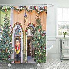 COFEIYISI Shower Curtain,Rothenburg Ob Der Tauber