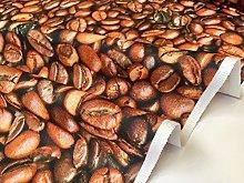 Coffee Beans Bean Caffe Fabric Curtain Upholstery