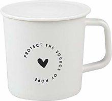 Coffee Cup Mug Tea Milk Cups with Lid Home Office