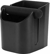 Coffee Ground Container, Black Coffee Knock Box,