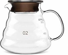 Coffee Kettle 600ml Thickened Glass Coffee Pot
