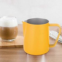 Coffee Latte Cup, Stainless Steel Milk Frothing