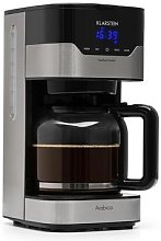 Coffee Maker Arabica 900W EasyTouch Control Silver