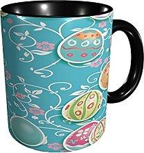 Coffee Mug Easter Egg Flower Floral Tea Cup Sized