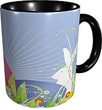 Coffee Mug Easter Rabbit Egg Tea Cup Sized 12 Oz