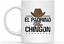 Coffee Mug El Padrino Mas Chingon Cool Spanish