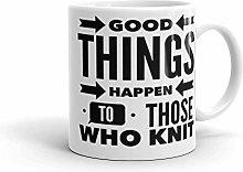 Coffee Mugs for Knitting Gift Idea for Mom Coffee