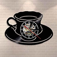 Coffee shop clock kitchen office wall decoration