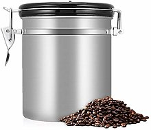 Coffee Storage Container, 1.5L 304 Stainless Steel