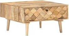 Coffee Table 68x68x38 cm Solid Mango Wood