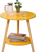 Coffee table, home double small round table side