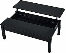 Coffee Table Lift Up Desk With Storage 115x70x40cm