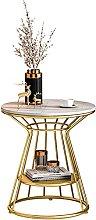 Coffee table, light luxury aristocratic side
